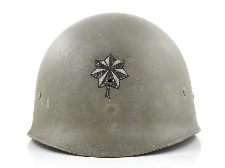 Mid-WWII Lieutenant Colonel's Westinghouse M1 Helmet Liner