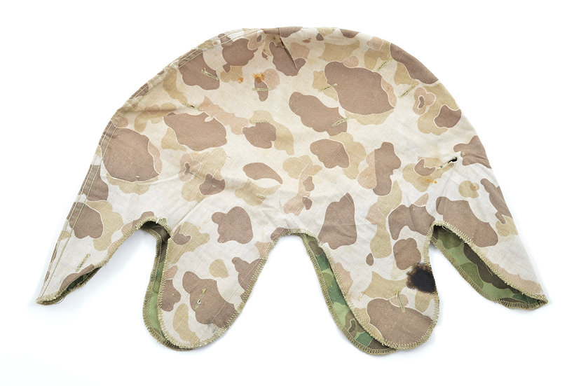 Early-WWII USMC Camouflage Helmet Cover