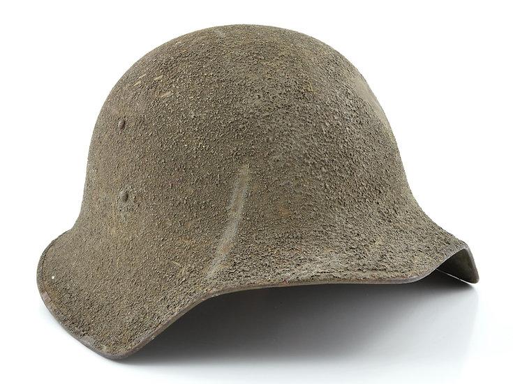 WWI Experimental Model No. 5 Helmet & Liner Set (Rare)