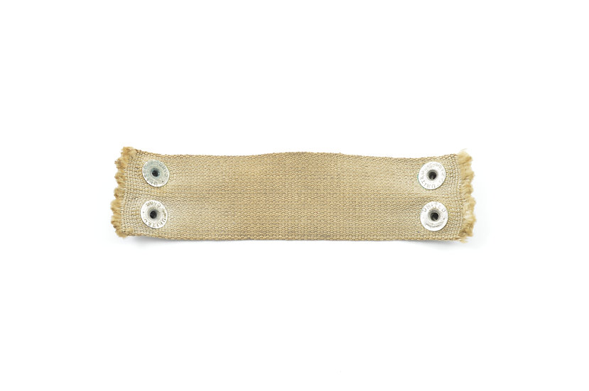 Early-WWII M1 Helmet Liner Rayon Hawley Neckband (Size 5)