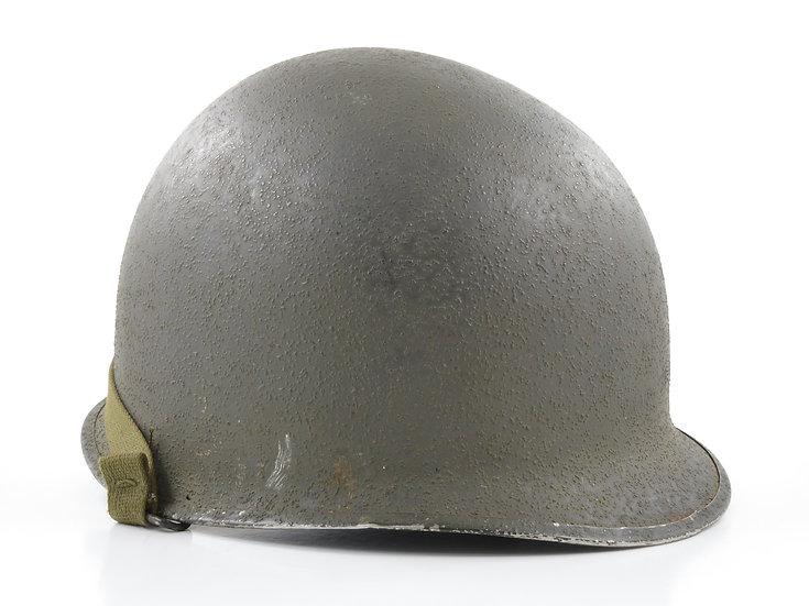 Late-WWII Swivel Loop McCord M1 Helmet Shell (October 1943)