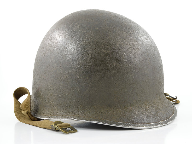 WWII Fixed Loop McCord M1 Helmet Shell (Mid-1941)