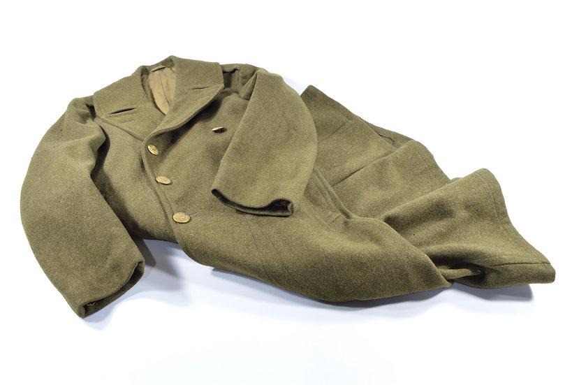 WWII U.S. Wool Overcoat (ID'd)