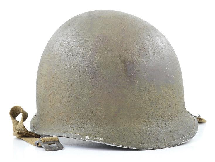 WWII Fixed Loop McCord M1 Helmet Shell (February 1942)