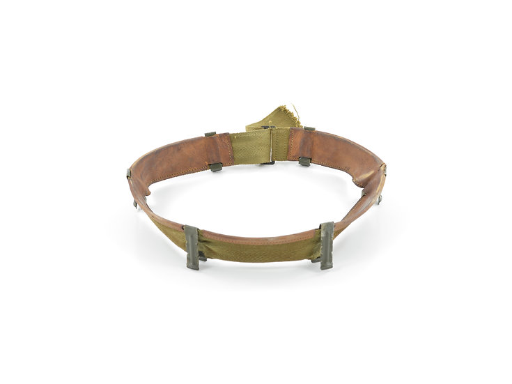 Original WW2 M1 Helmet Liner Headband (Mid-Late War) For Sale