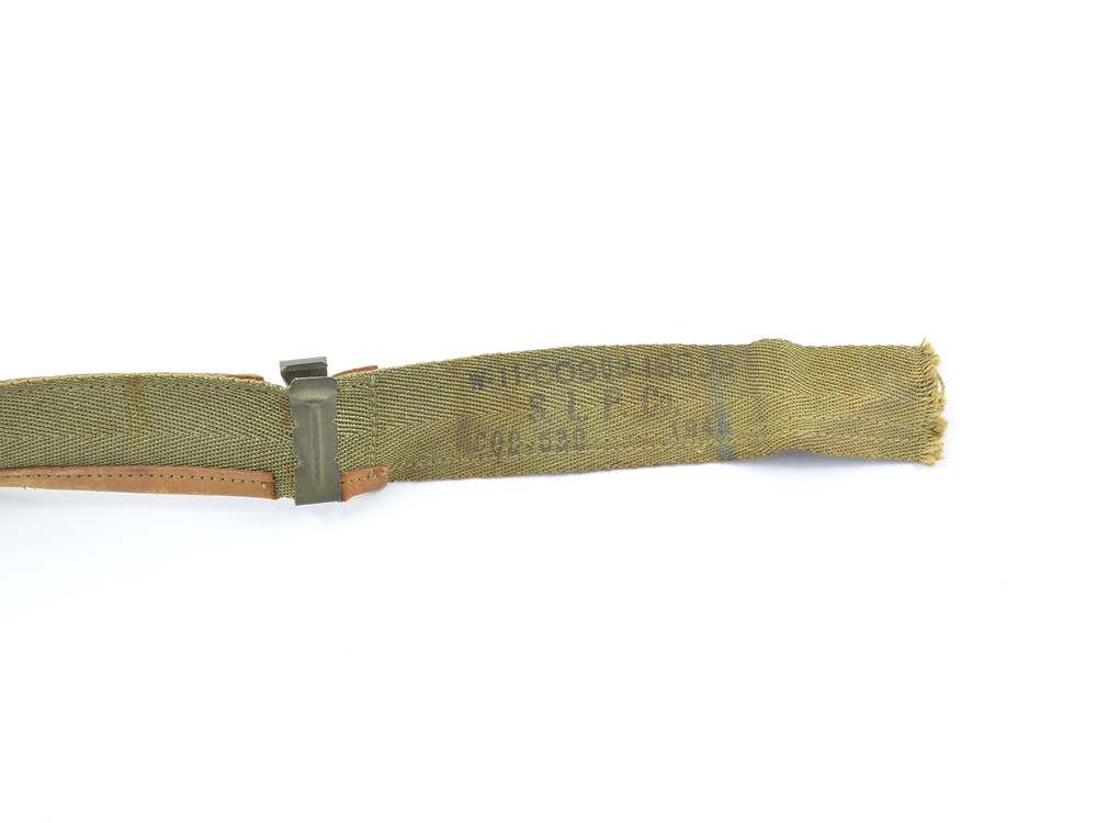 WW2 Sweatband W-11-009-QM-18009, S. L. P. Co., CQB-630 1945