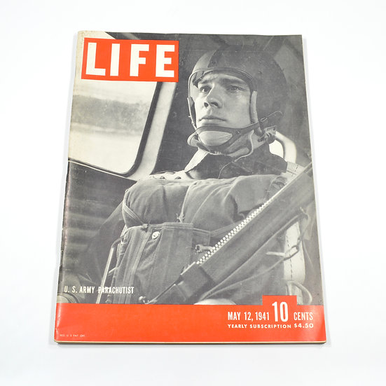 WWII Life Magazine (May 12, 1941)
