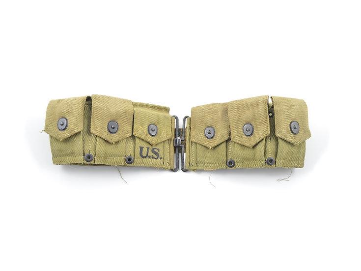 WWII M1 Garand Cartridge Belt (1943)