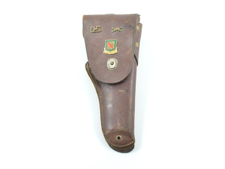 WWII Theatre-Made 1911 Leather Holster (Personalized)