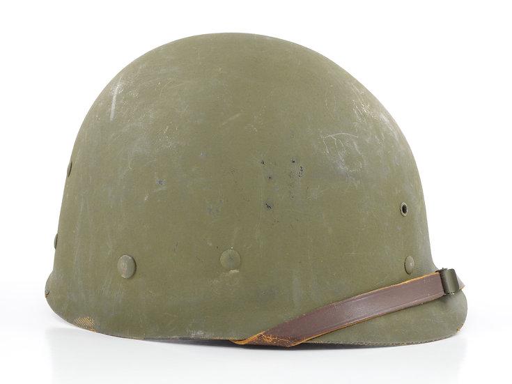Original Mid-WW2 U.S. International Molded Plastics M1 Helmet Liner (Complete) For Sale
