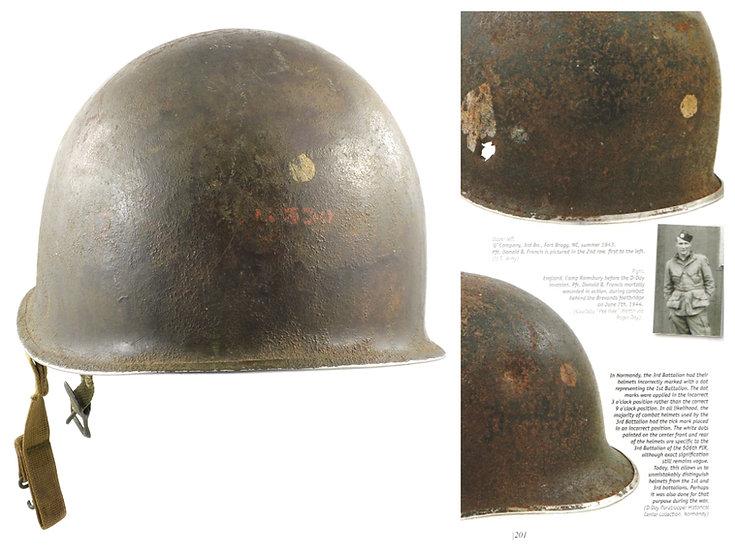 Possible 101st, 3rd Bn., 506th PIR WWII Helmet & Westinghouse Paratrooper Liner