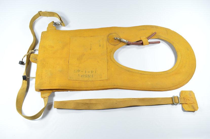 WWII Mae West B-4 Paratrooper's Pneumatic Life Preserver