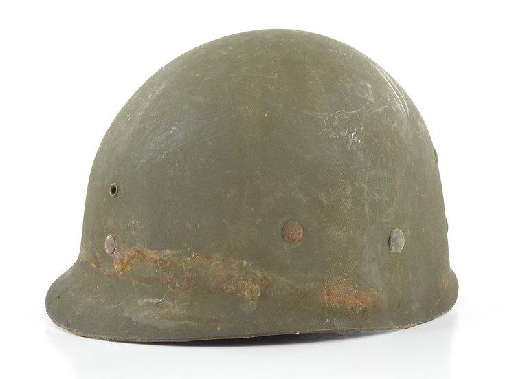 Original Early-WW2 U.S. Westinghouse Infantry M1 Helmet Liner (W/ Neckband) For Sale
