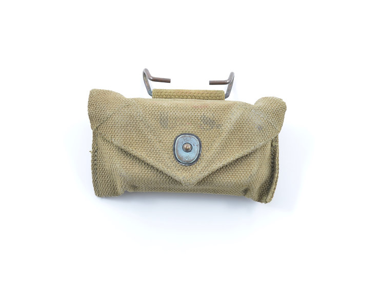 WWII Carlisle Bandage Pouch (Complete)