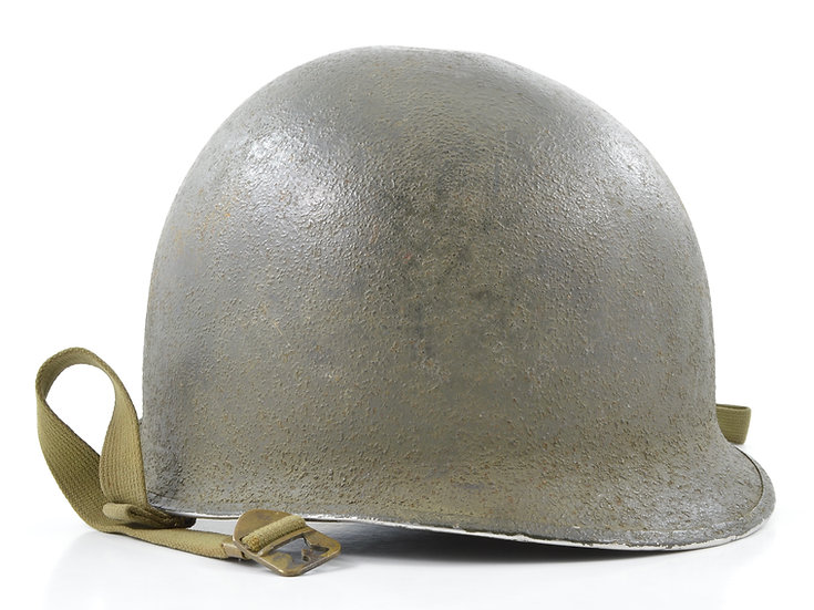 WWII Fixed Loop McCord M1 Helmet Shell (September 1943)