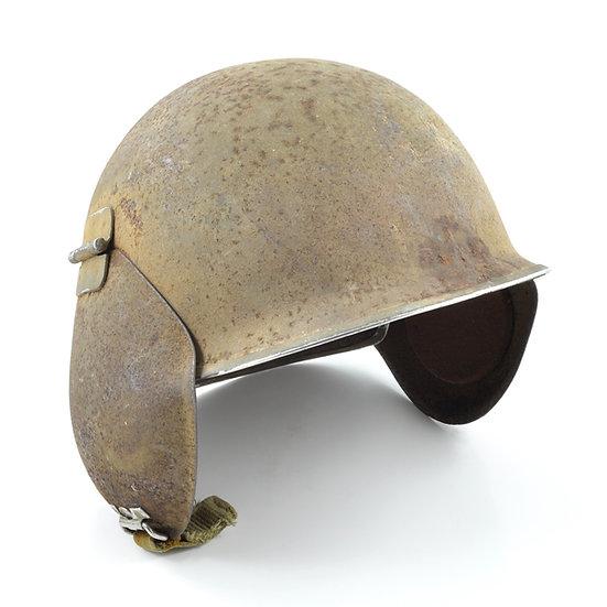 WWII U.S. Army Air Corps/Force M3 Bomber Crew Flak Helmet