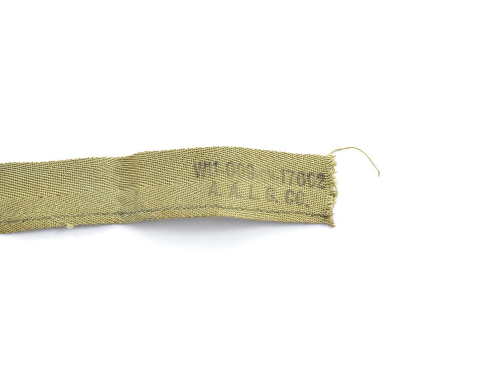 WW2 Sweatband A. A. L. G. CO. W11-009-QM-17002, November 5, 1943