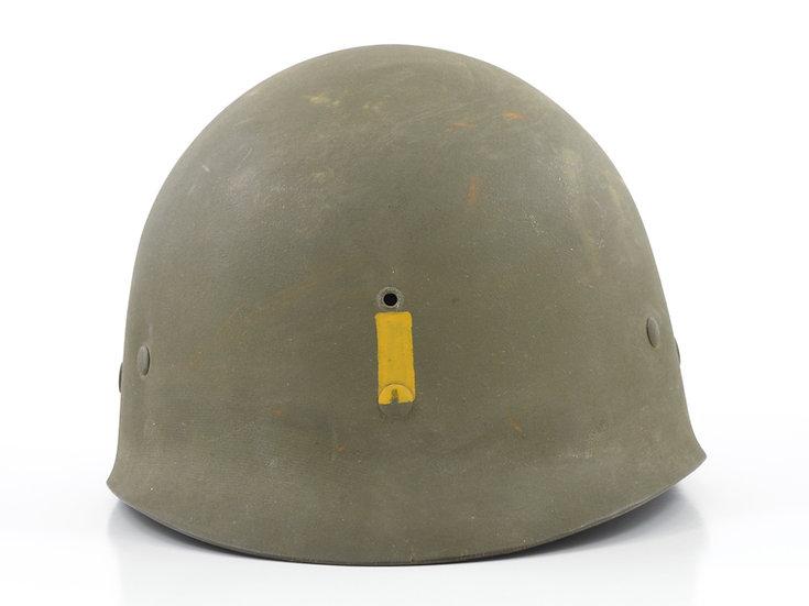 Original Mid-WWII Second Lieutenant's Inland/Firestone M1 Helmet Liner For Sale