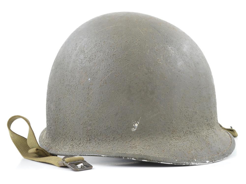 Original WWII Fixed Loop M1 Helmet For Sale