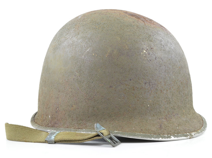 WWII Fixed Loop Schlueter M1 Helmet Shell (1943)