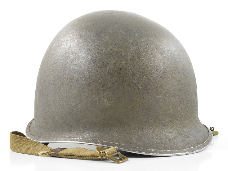 WWII Fixed Loop McCord M1 Helmet Shell (Mid-1941)