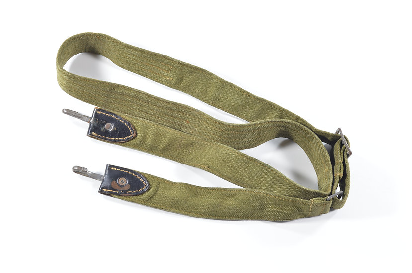 WWII German M31 Bread Bag & Helmet Strap