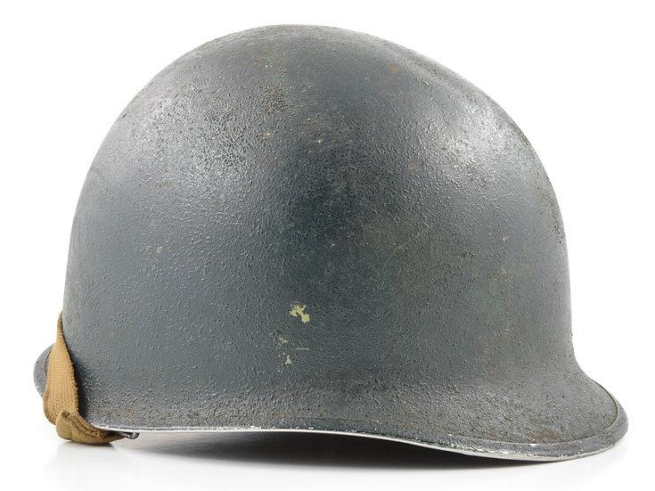 WWII Fixed Loop M1 Helmet & St. Clair Liner PTO Set (1941-42)