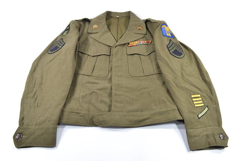 Original WW2 Army Engineer Special Brigade Staff Sergeant's Ike Jacket For Sale