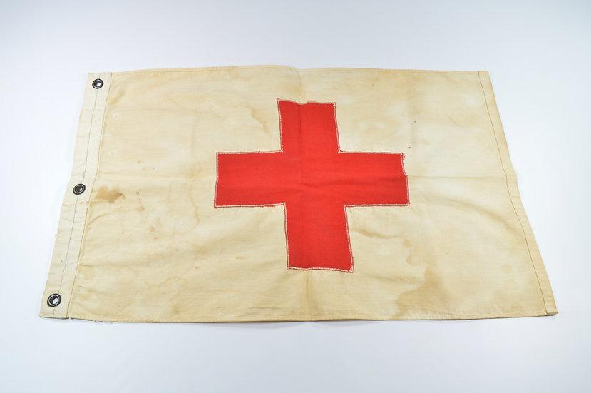 WWII U.S. Geneva Cross Medic's Flag