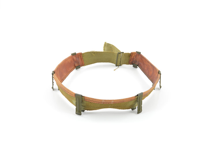 Original WW2 M1 Helmet Liner Headband (Early-Mid War) For Sale