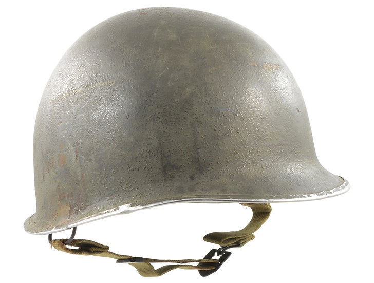"Original WW2 Paratrooper M2 ""D-Bail"" Airborne Helmet Shell For Sale"