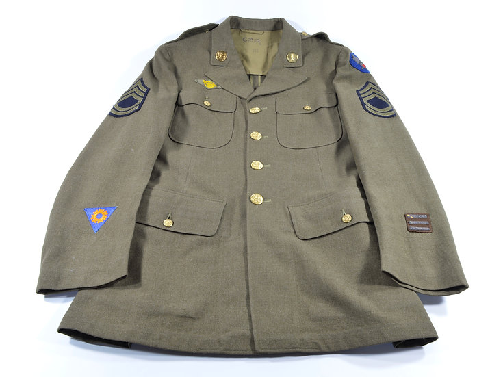 WWII Air Force 4-Pocket Jacket (ID'd)