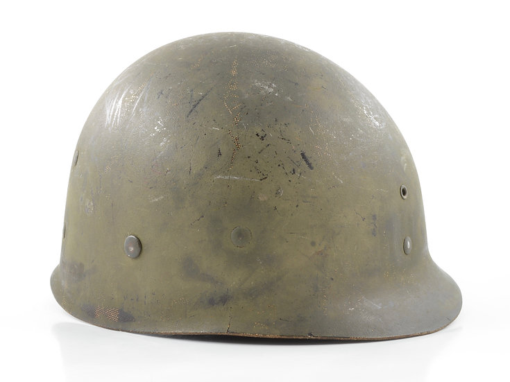 Early-WWII Westinghouse Infantry M1 Helmet Liner (W/ Neckband)