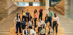 A group of professional students