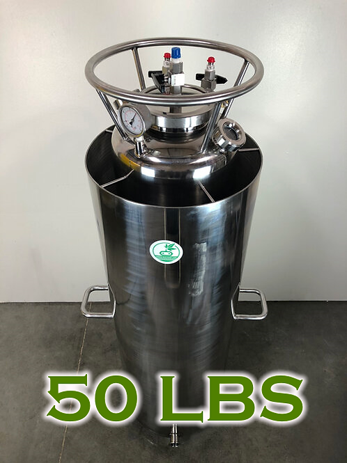 OPEN JACKET RECOVERY TANK 50LBS