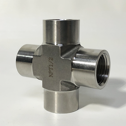 Threaded Female NPT Cross (FNPT)