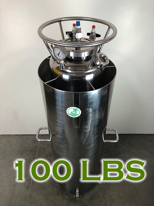 OPEN JACKET RECOVERY TANK 100LBS