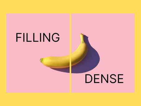 Relationships - Fullness & Food Density