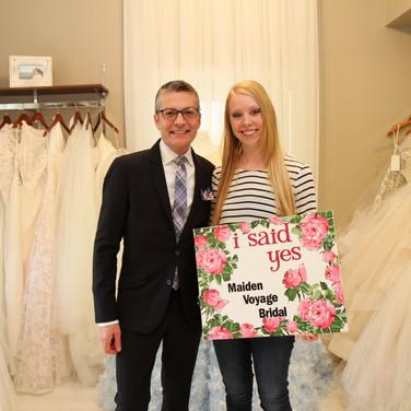 Randy Fenoli say yes to the dress
