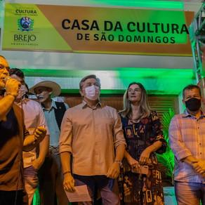 Espaço de valorização cultural no Distrito de São Domingos é inaugurado