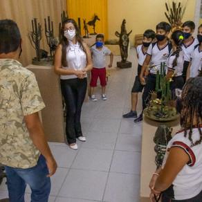 Museu histórico e Secretaria de Cultura  voltam a receber alunos para visitação