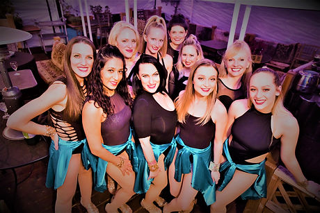 Shawn Gardner Dancing Ladies Latin Team