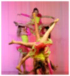 Junior Girls Team, Shawn Gardner Dancing