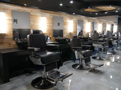 Back Splash, Barber Stations & Paneling Accent