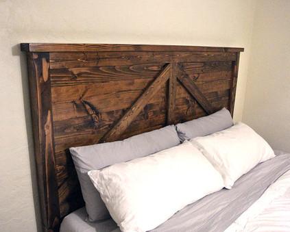Barn Door Bed Frame