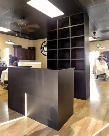 Reception Desk & Display
