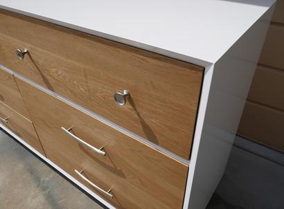 Mid Century Modern Dresser Close Up
