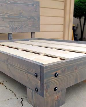 Modern Rustic Bed Frame