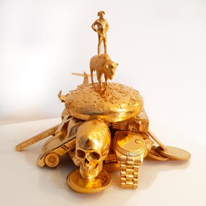 Jester Burger II (Self-Portrait)