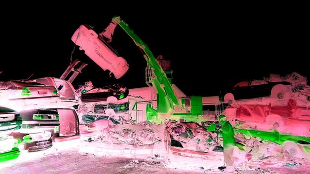 Wrecking Yard 8 (Pink Version)